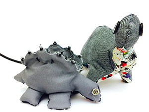 Affective Soft Toy Dinosaurs